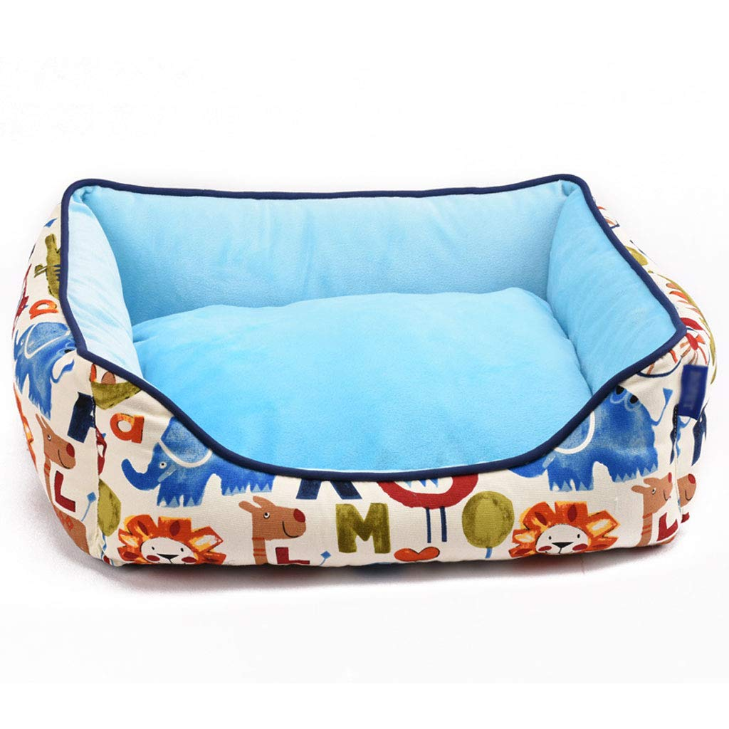 LITING Kennel Cat Litter Full Washable Dog Kennel Teddy Bear Small Kennel Universal Kennel