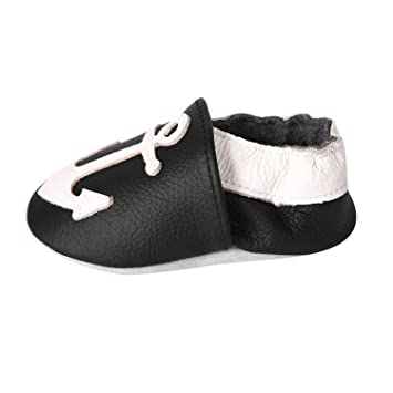 7c09f6be431 CHIC-CHIC- Chaussures Bébé - Chaussons Bébé - Chaussons Cuir Souple - Chaussures  Cuir