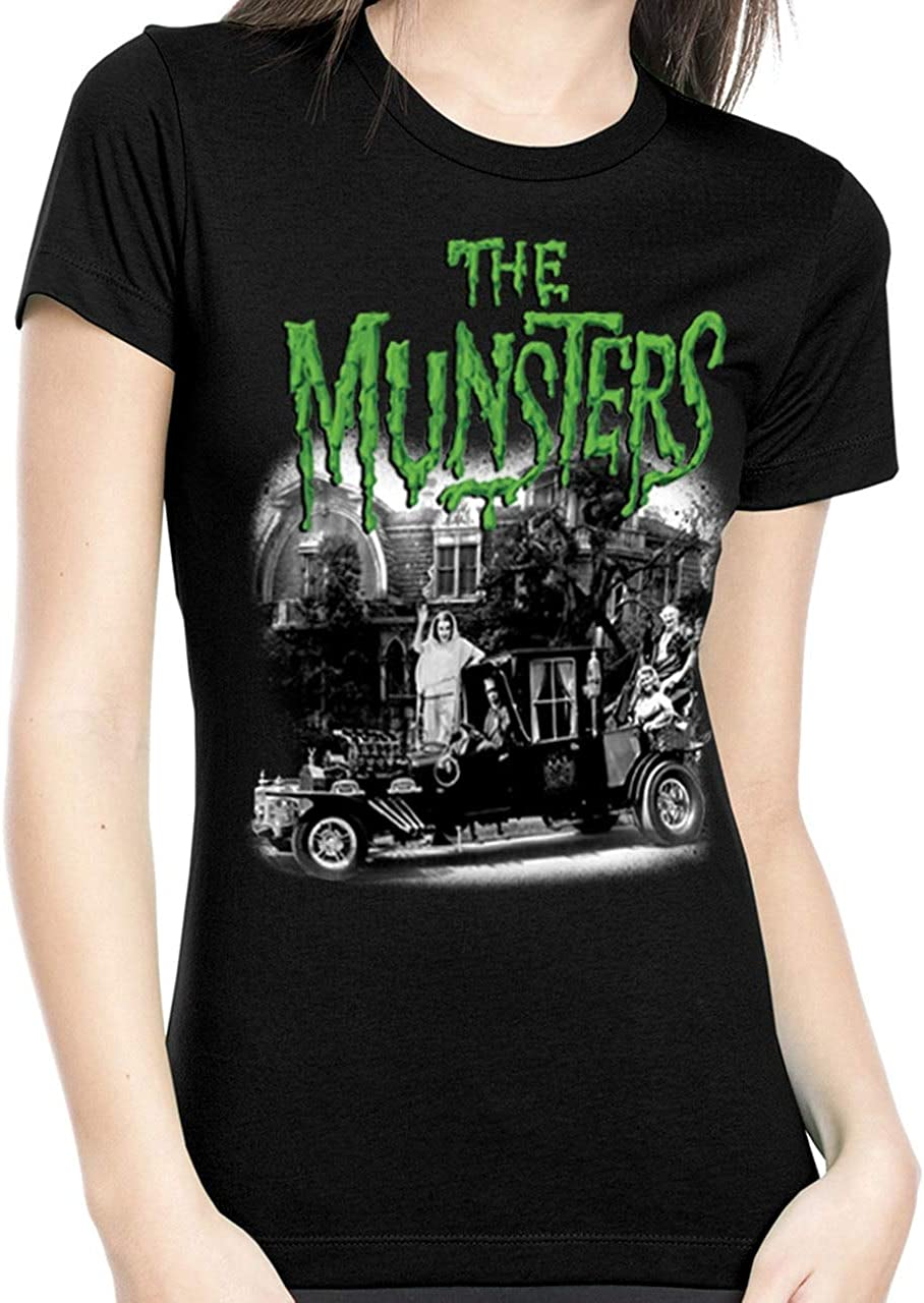 UNIVERSAL The Munsters Family Portrait Juniors T-Shirt S-XL NEW