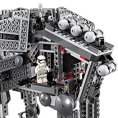 LEGO Star Wars Episode VIII First Order Heavy Assault Walker 75189 Building Kit (1376 Piece): Toys & Games
