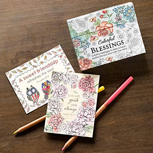 Large Product Image of Colorful Blessings: Cards to Color and Share