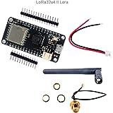 LoRa32u4 II Lora Development Board, Low Consumption Board Based on LiPo Atmega328 SX1276 HPD13 915MHz Lora Module IOT with Antenna for Arduino WIshioT