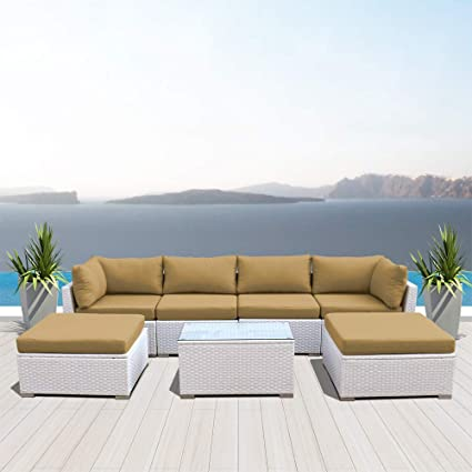 Surprising Amazon Com Dineli Outdoor Sectional Sofa Patio Furniture Unemploymentrelief Wooden Chair Designs For Living Room Unemploymentrelieforg