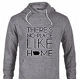 Iowa Shirt/State Hoodie/No Place Like Home Iowa Custom Adult Sweatshirt