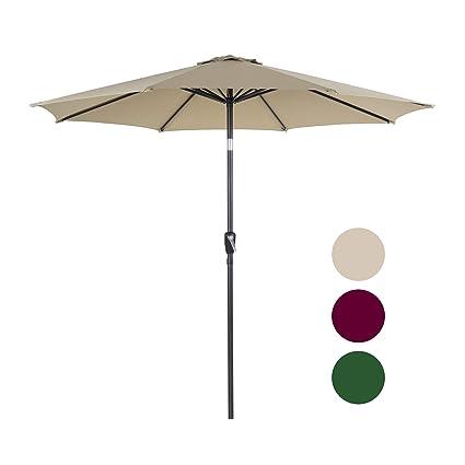 Amazon.com: Homevibes Sombrilla para patio al aire libre con ...