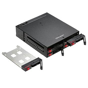 KKmoon oimaster 6 bahías estante móvil Backplane apoyo 2.5