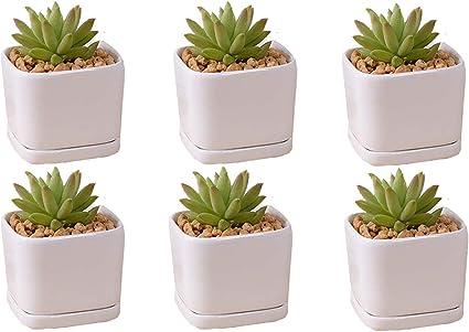 Flower pot Plant pot Succulent clay planter Girl Succulent plant pot Cache pot Modern mini planter Ceramic planter Ceramic cactus pot