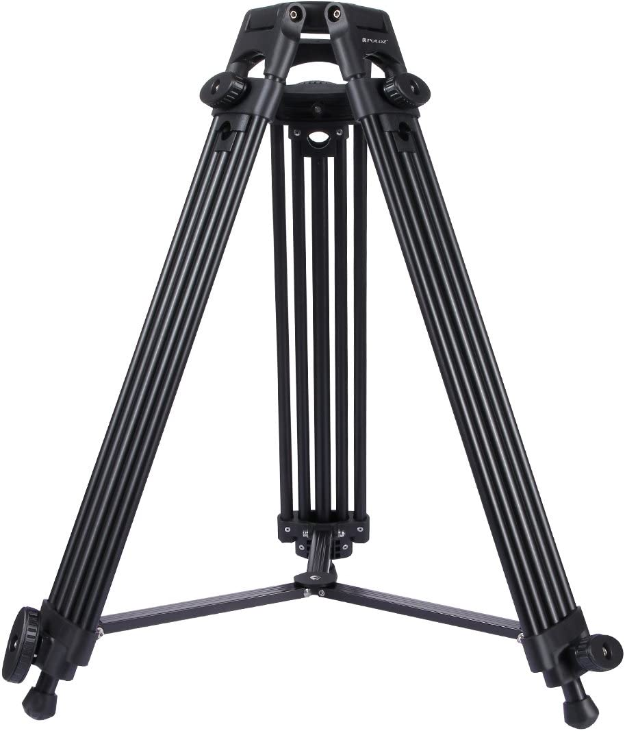 Camera Tripod Professional Heavy Duty Video Camcorder Aluminum Alloy Tripod for DSLR//SLR Camera 62-140cm Adjustable Height