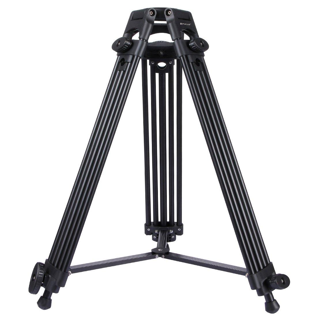 人気定番 KANEED カメラアクセサリー PULUZプロフェッショナルヘビーデューティビデオカメラアルミニウム合金三脚、DSLR 三脚、一脚/SLRカメラ用、調節可能な高さ:62-140cm KANEED 三脚 B07PJ8N66H、一脚 B07PJ8N66H, システムファーム:a19c421f --- martinemoeykens.com