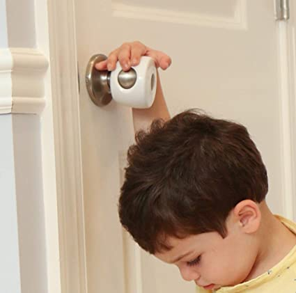 Safety 1st Parent Grip Door Knob Covers White Pack of 3 One Size