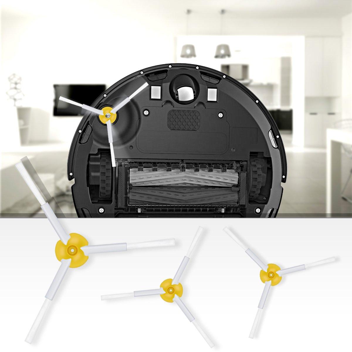 POWER-XWT Kit di Ricambio Roomba Accessori per IRobot Roomba 800 805 860 861 870 871 880 885 890 900 960 980 Filtro di Ricambio