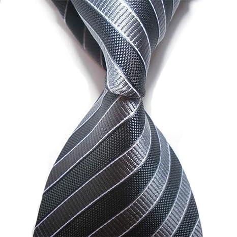 Zjuki corbata Corbatas para Hombres Fiesta de Bodas Verano Seda ...