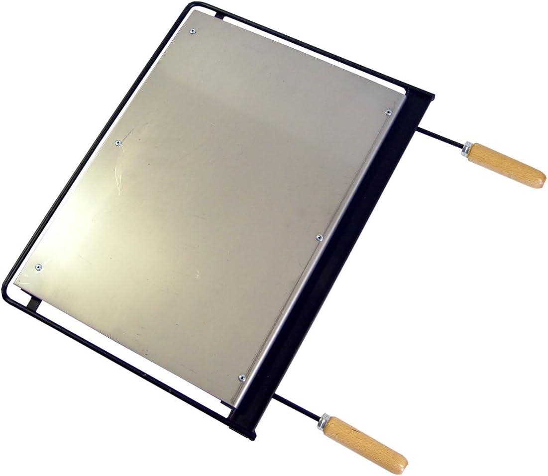 IMEX EL ZORRO Plancha para Barbacoa, INOX, 71 x 41 cm, Gris, 71623