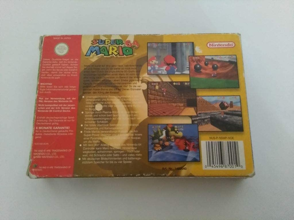 Amazon.com: Super Mario 64: Video Games