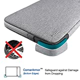 Tomtoc-Drop-proof-Laptop-Sleeve-for-13-133-Inch-MacBook-Air-MacBook-Pro-Retina-Late-2012-Early-2016-129-Inch-iPad-Pro-360-Protective-Chromebook-Tablet-Case-Spill-Resistant-Gray