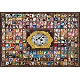 Tenyo Japan Jigsaw Puzzle D-1000-383 Disney All Characters (1000 Pieces) (japan import)
