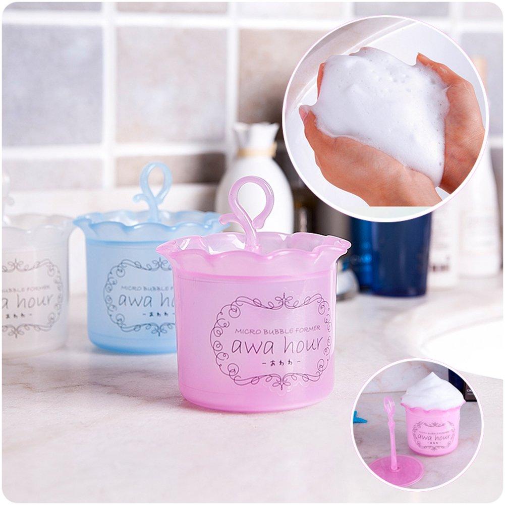 Gracefulvara Makeup Remover Bubble Maker For Produce Biore Bundle Bright Care Cleansing Foam Face Wash Foamer Beauty