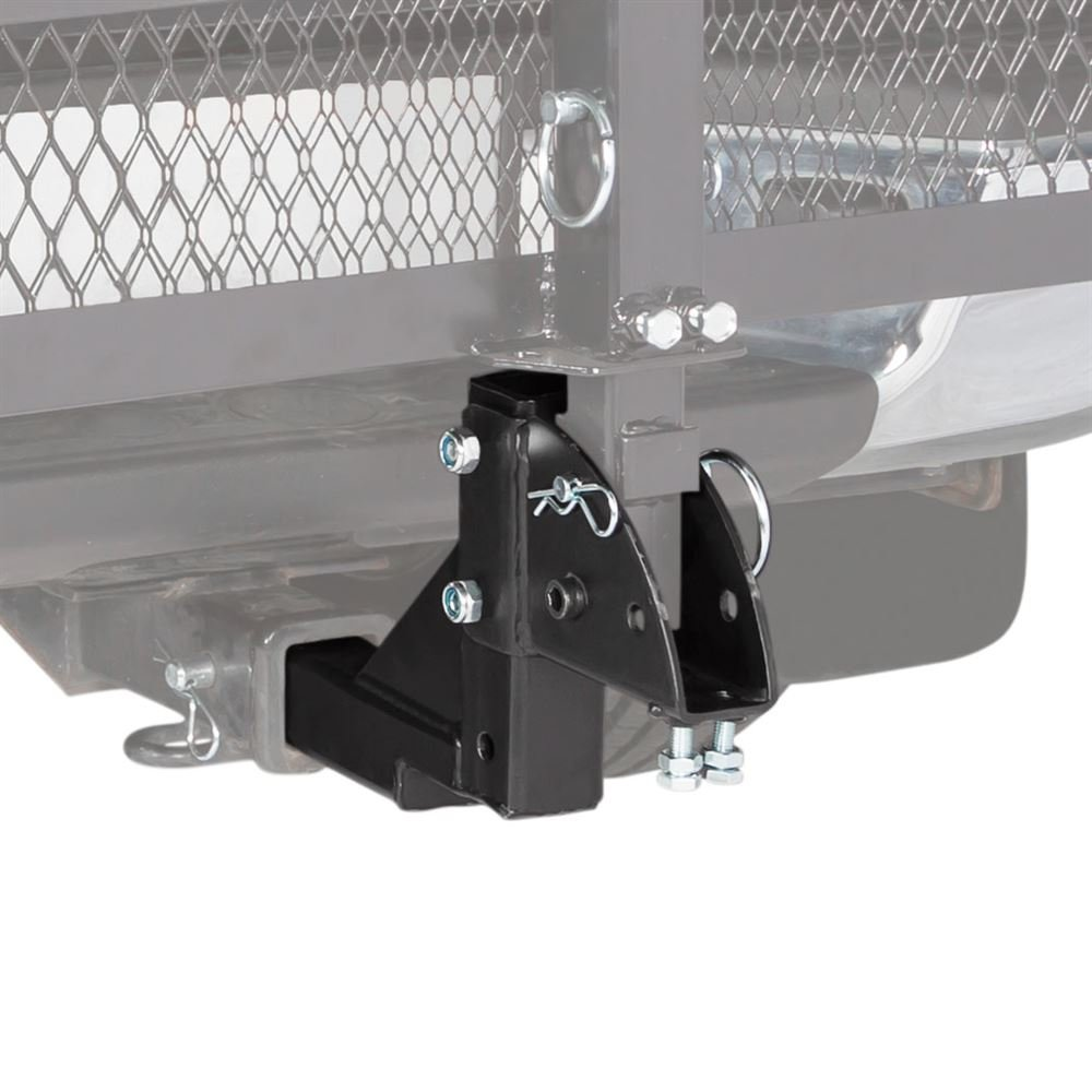 2'' Class III or IV Hitch-Mounted Mobility Carrier Multiple Level Height Adapter