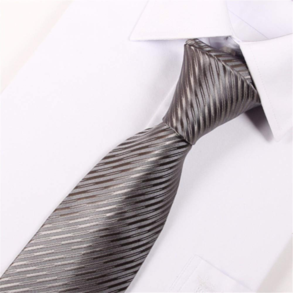 pyty123 Corbata De Color Sólido para Hombres Ropa Formal Negocios ...