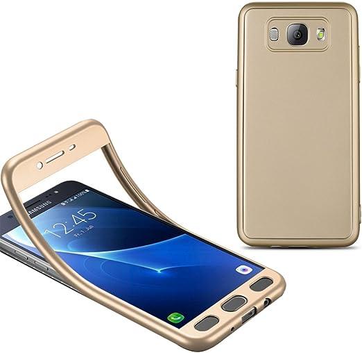 UKDANDANWEI Samsung Galaxy C9 Pro 360 Grados Funda,Ultra-fina Soft TPU Protección Anti-Arañazos Carcasa para Samsung Galaxy C9 Pro: Amazon.es: Electrónica