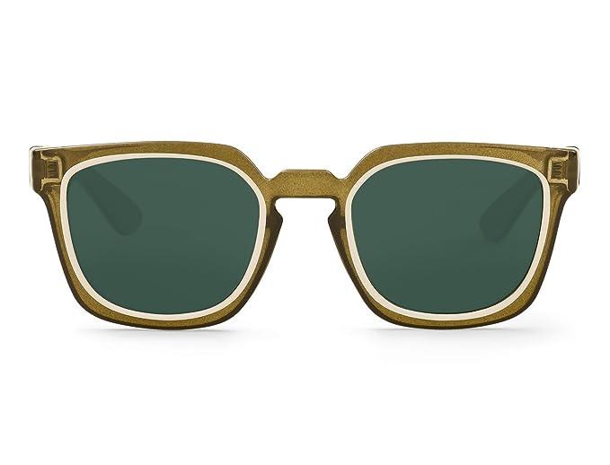 Mr. Boho | Salesas | Cream / Olive - Gafas de sol para hombre y mujer