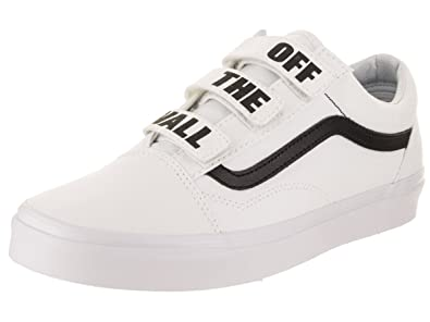 c6514f4279 Vans Men Old Skool V - Off The Wall White Black Size 12.0 US