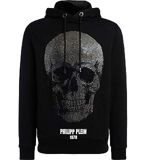 85ec7fc4e0c66 Philipp Plein MJB0277PJO002N Sweat-Shirt Homme  Amazon.fr  Vêtements ...