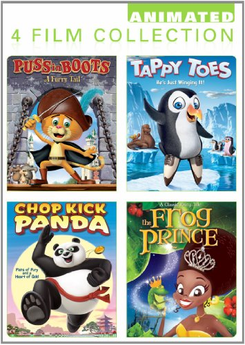 Animated 4 Pack (Puss In Boots, Tappy Toes, The Frog for sale  Delivered anywhere in USA