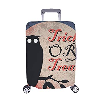 Halloween Spandex Trolley Case Travel Luggage Protector Suitcase Cover 28.5 X 20.5 Inch