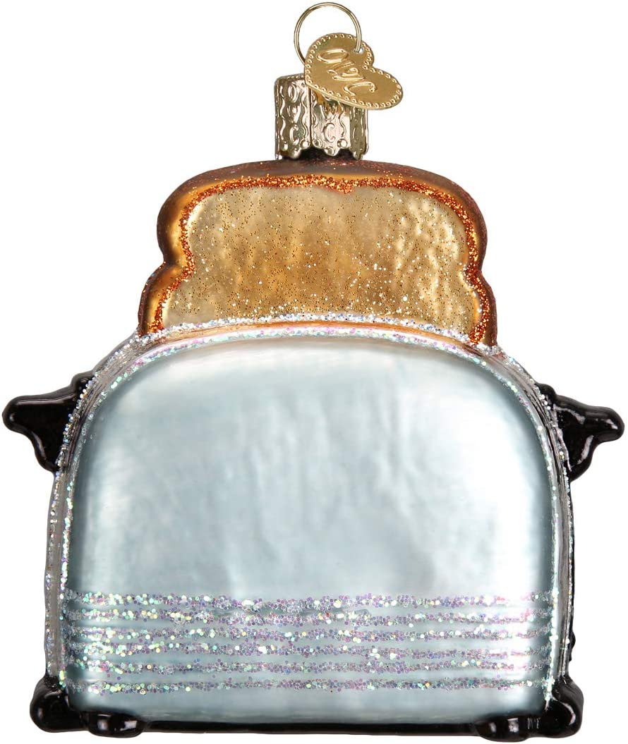 Old World Christmas Collection Glass Blown Ornaments for Christmas Tree Chefs Coat