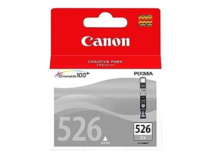 Canon CLI-526GY, Cartucho de tinta original Gris para Impresora de Inyeccion de tinta Pixma MG6150-MG6250-MG8150-MG8250