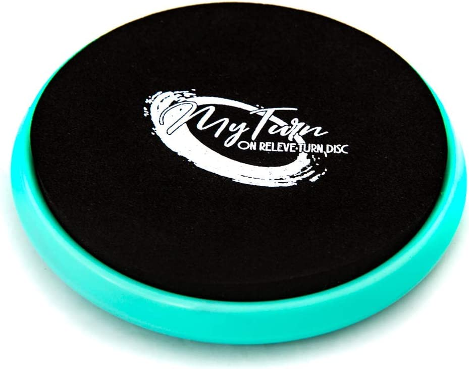 My Turn Disc ポータブルターニングボード ダンサー バレエ 体操 装備 ダンスアクセサリー バランストレーニング テクニック ピルエット用 回転 ブルー