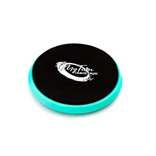 The Patent Pending My Turn Disc, Portable Turning Board for Dancers, Ballet, Gymnastics, Equipment, Dancing Accessories for Balance Training, Technique and Spinning on Releve (Blue)