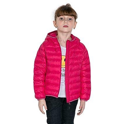 Harson&Jane Chaquetas de peso ligero con capucha abrigos para niños de alta calidad Ultralight chaqueta caliente