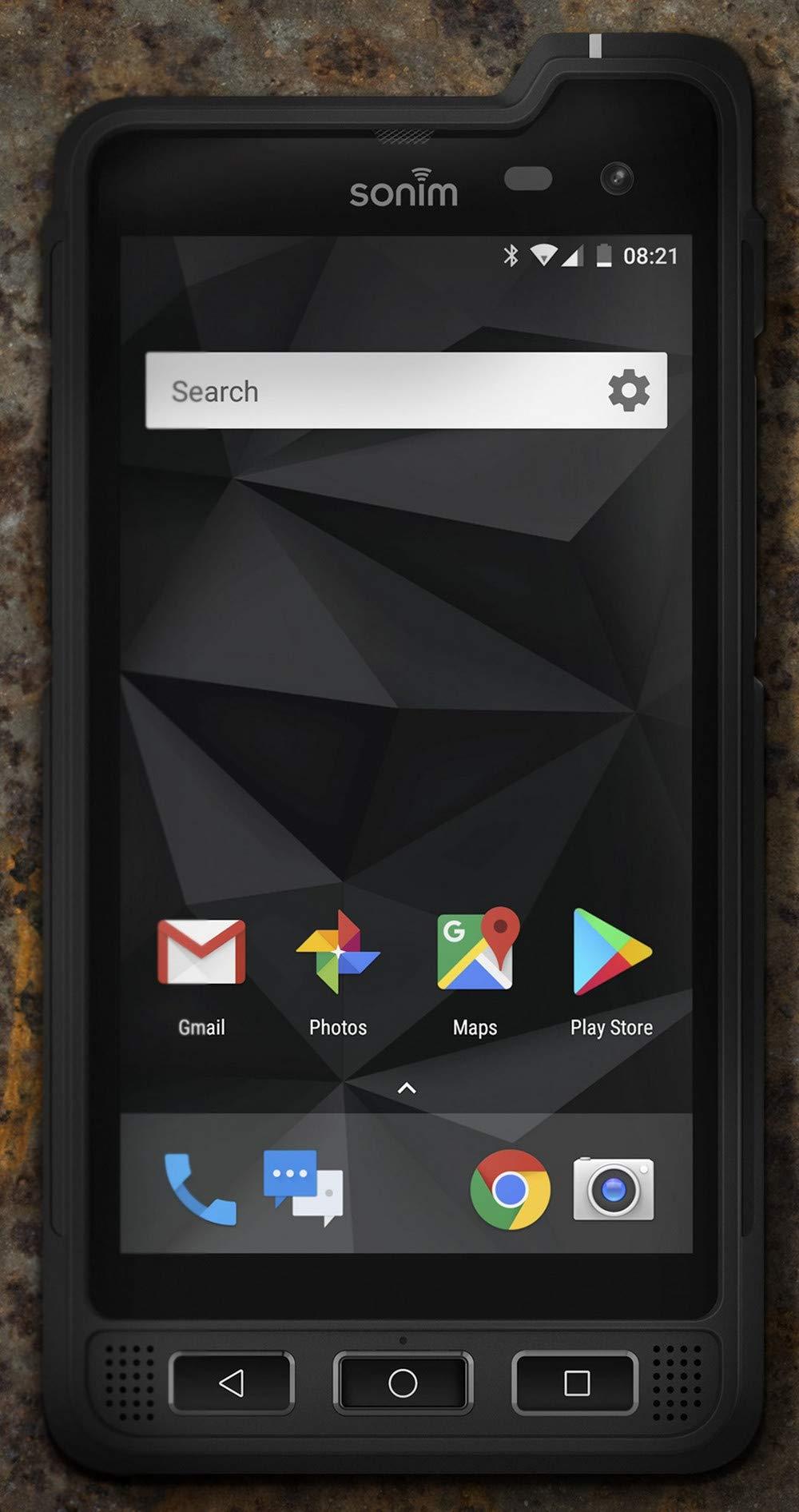 Sonim XP8 | Grade A+ | AT&T | Black | 64 GB | 5.0 in Screen (Renewed)