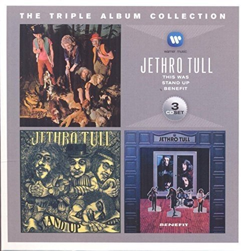 Triple Album Collection (This Was/Stand Up/Benefit) - Jethro -