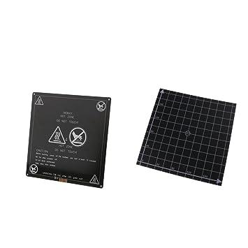 Sharplace 1 Pieza Tablero de Aluminio para Impresora 3D con ...