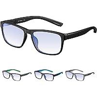 Rezi Gafas Premium con Armazón TR90 para Protección contra Luz Azul, Anti Fatiga por…