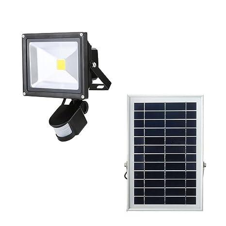 sailun 20 W LED SMD foco blanco frío/Blanco Cálido Solar Foco exterior lámpara foco