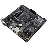 Asus Prime B450M-K Mainboard Sockel AM4 (mATX, AMD AM4, DDR4-Speicher, natives M.2, USB 3.1 Gen 2)