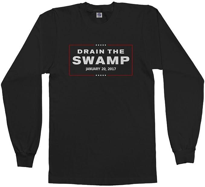 Amazon.com: threadrock de los hombres Drain The Swamp Trump ...