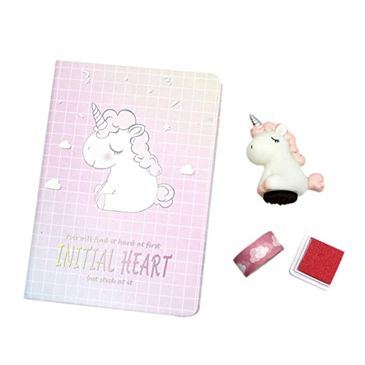 Amazon.com: Unicorn Gifts for Girls, Cute Unicorn Notebook ...