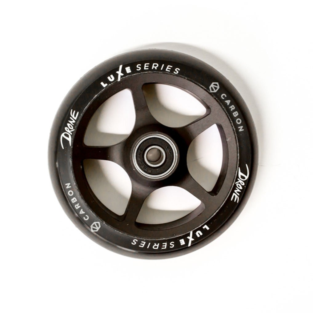 Drone Luxe Series 120mm Scooter Wheel Black Carbon