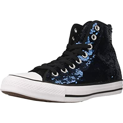 1d43dccef958f4 Converse Chuck Taylor All Star - HI - Midnight Indigo Black White - Women