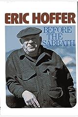 Before the Sabbath (A Cass Canfield book) Hardcover