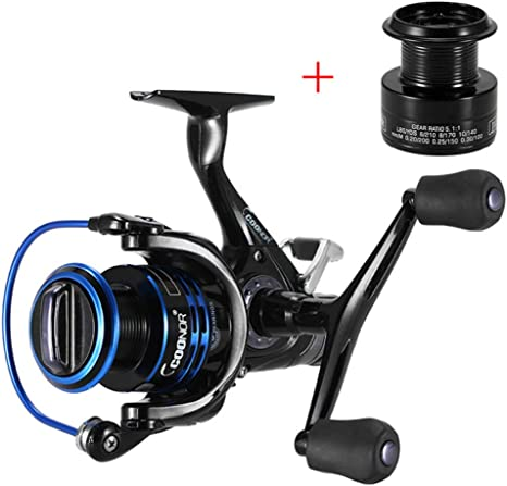 SHZJ 9 + 1BB Spinning Fishing Reel 5.1: 1 Left/Right Spinning Reel ...