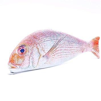 HAWSOIFHDUUUS Bolsa de lápices Creativa forma de pez Estuche ...