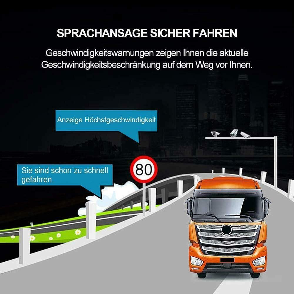 pare-soleil gratuit. WOHNMOBIL et Camper.Radarwarner mise /à jour gratuite carte GANZ Europe dangereux voitures Navigateur pour camions camions 47 pays camion bus
