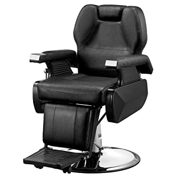 Fine Mefeir Reclining Hydraulic Barber Chair For Hair Salon Beauty Heavy Duty All Purpose Styling Hairdressing Equipment With Adjustable Headrest 360 Lamtechconsult Wood Chair Design Ideas Lamtechconsultcom
