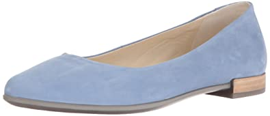 7d29fac6d95c Ecco Damen Shape Pointy Ballerina Slipper, Blau (Retro Blue), 39 EU